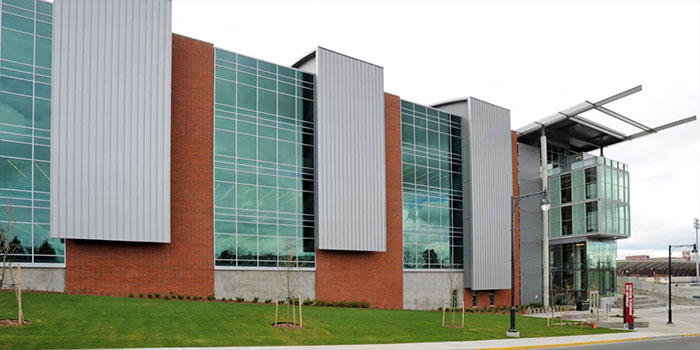 Exterior of Veterinary Biomedical Research Building
