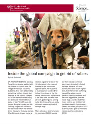 Inside the global campaign to get rid of rabies