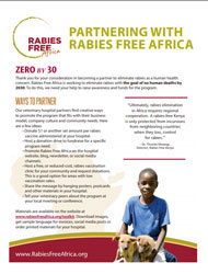 Partnering with Rabies Free Africa