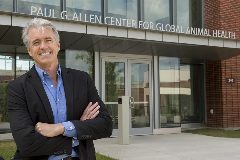 Guy Palmer Paul Allen Global Animal Health Building